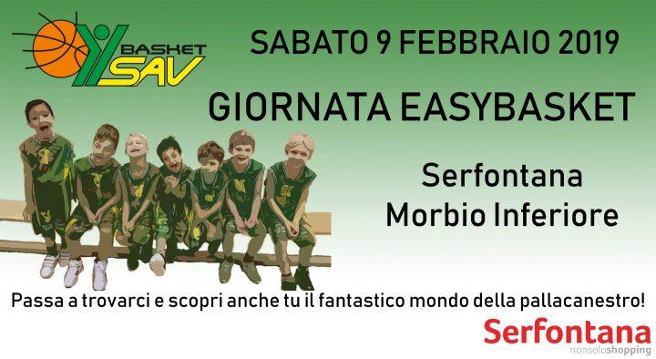 Easybasket al Serfontana con la SAV!